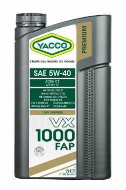 VX 1000 FAP